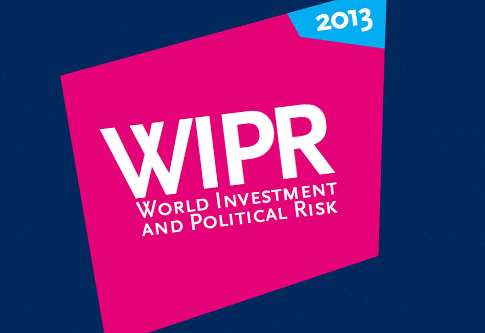 World Investment and Political Risk 2013