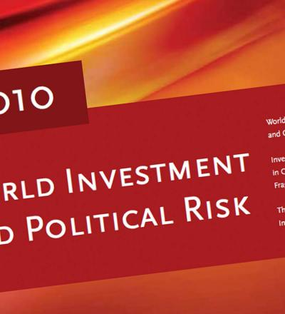 World Investment and Political Risk 2010